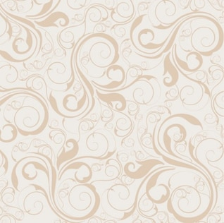 Floral padrão de fundo vector seamless