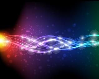 arte abstrata do vetor neon