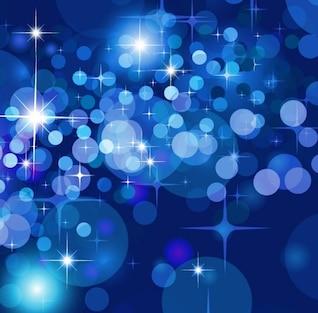 abstrata bokeh estrelas de fundo