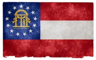 geórgia grunge bandeira