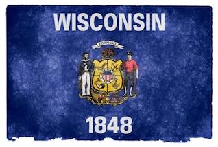 wisconsin grunge bandeira