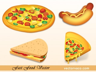 Pizza & Hot cães FastFood