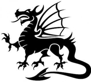 Dragão Imagem vetorial