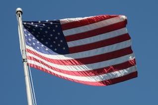a bandeira americana