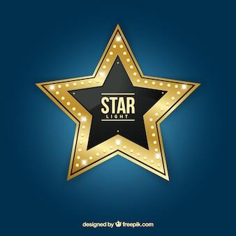 A luz da estrela