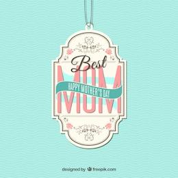 A melhor etiqueta mom