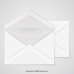 Abra o envelope