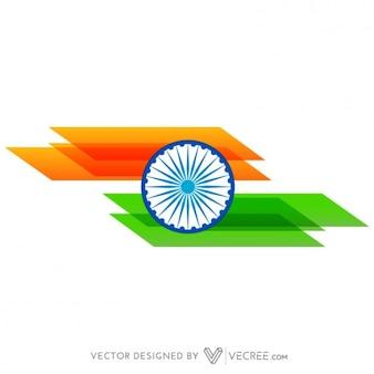 Bandeira indiana Abstract