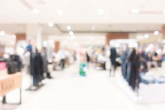 Abstrato borrão shopping