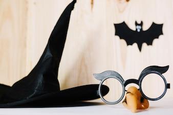 Adereços de Halloween para mascarada
