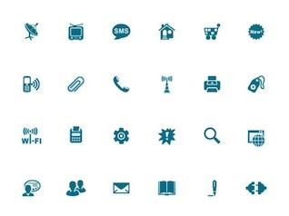 Adobe azul à moda vector logo