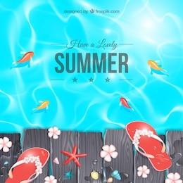 Adorável verão