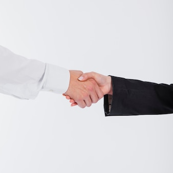 Agitação de mão de negócios