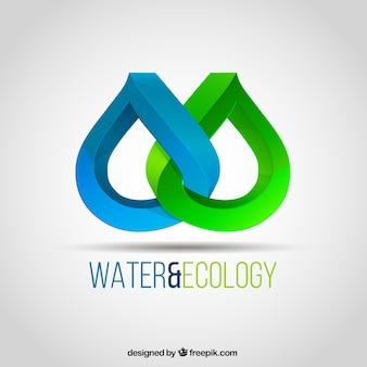Água e ecologia logotipo