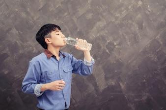 água potável Man
