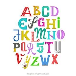 Alfabeto engraçado