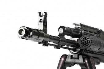 Alvo medo luta munições exército