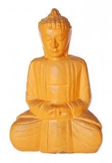 amarelo buddha estátua