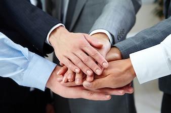 Amizade e trabalho em equipe