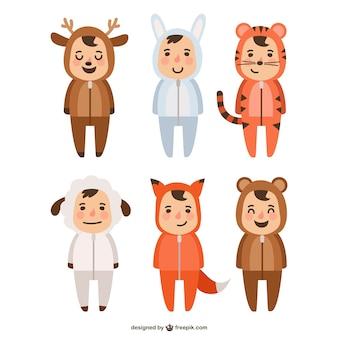 Animais trajes