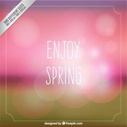 Aproveite cartão primavera