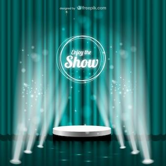 Aproveite o show