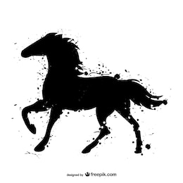 Aquarela Black Horse