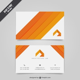 Arquitetura cartão de visita