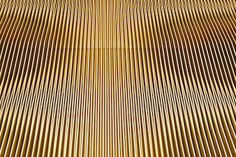 arquitetura moderna amarela com linhas