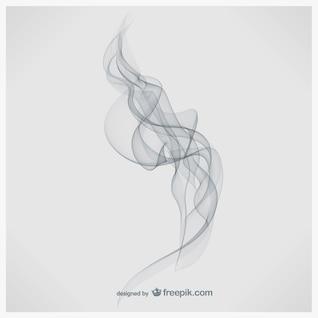 Arte fumaça vetor