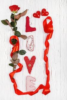 Arte presente dos Valentim românticos sentimentos