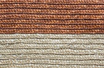 Artesanato de textura de tecido rattan