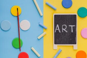 Artigos de arte compostas