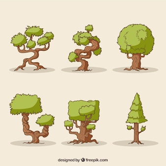 Árvores abstracr