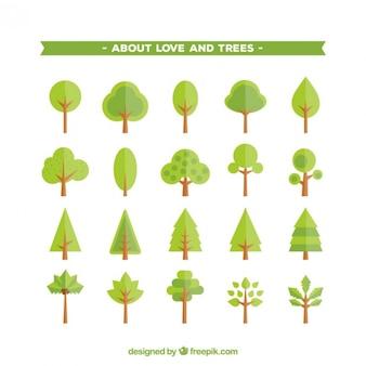 Árvores ícones