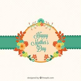 As mães Cartão do dia com flores
