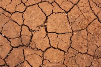 Assoalho seco do deserto