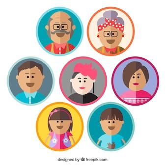 Avatars família