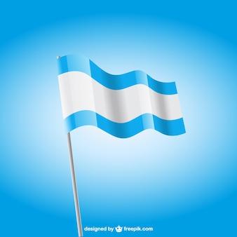 Azul e branco da bandeira