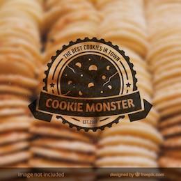 Badge Cookie Monster