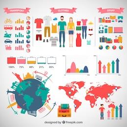 Bagagem infográfico