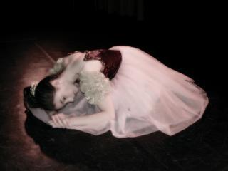 bailarina, rosa