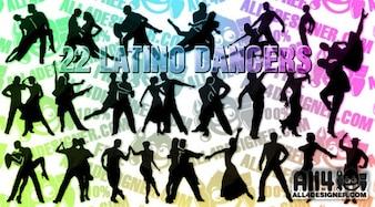 Bailarina vetor latino | All4Designer