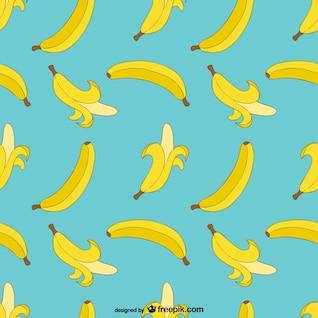 Banana padrão de impressão