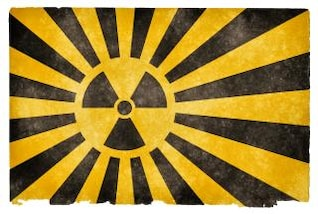 bandeira do grunge explosão nuclear