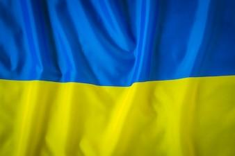 Bandeiras da Ucrânia.