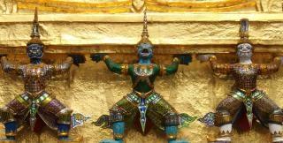 Bangkok Wat Phra Kaew budista