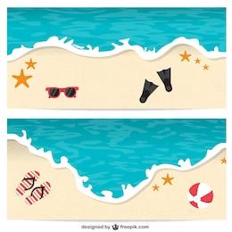 Banners de praia