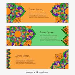Banners Mandala embalar