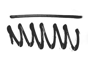 Banners texturizados forma abstrata elemento